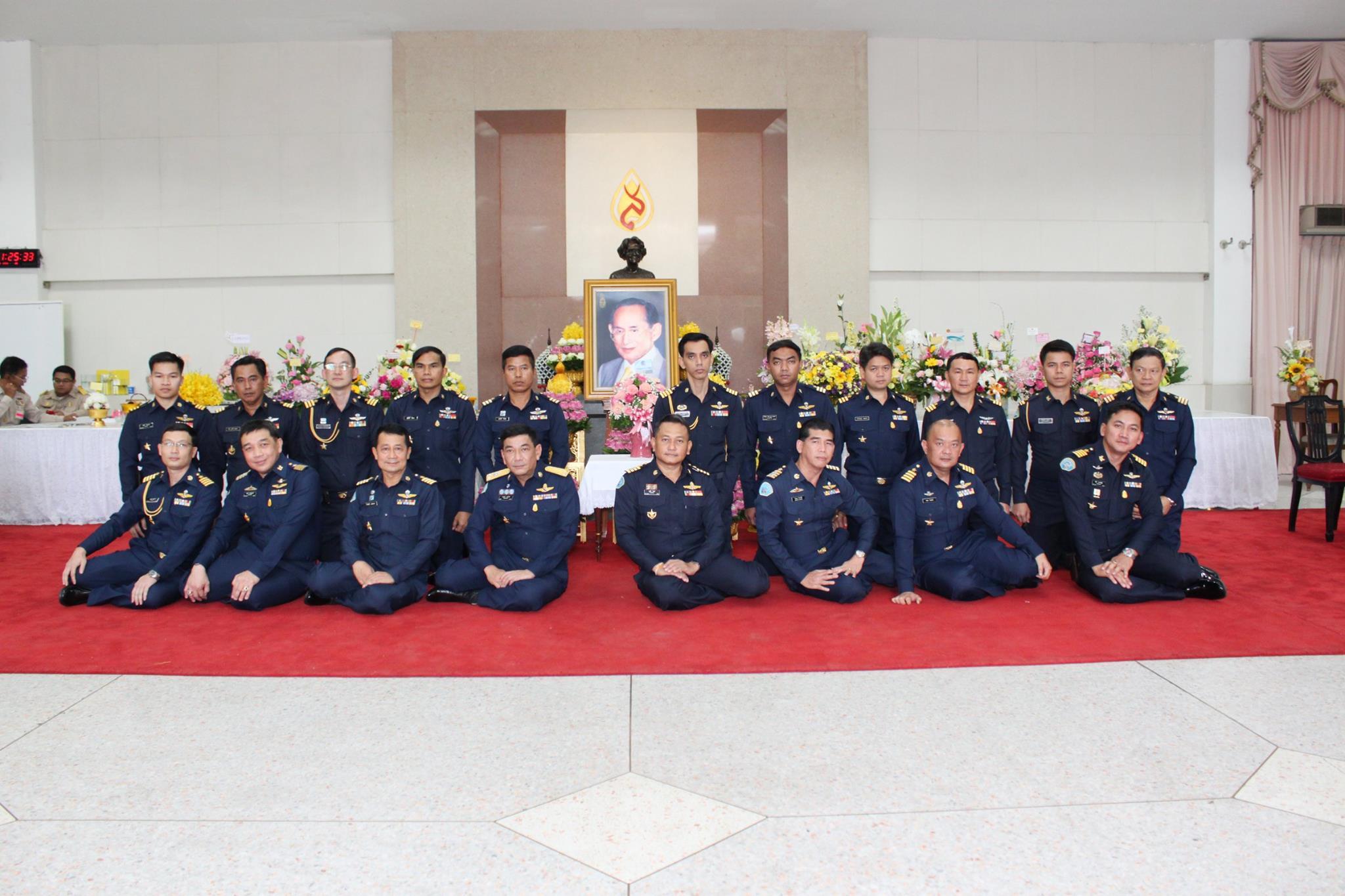 สำนักงานผู้บังคับทหารอากาศดอนเมือง ลงนามถวายพระพรพระบาทสมเด็จพระเจ้าอยู่หัว